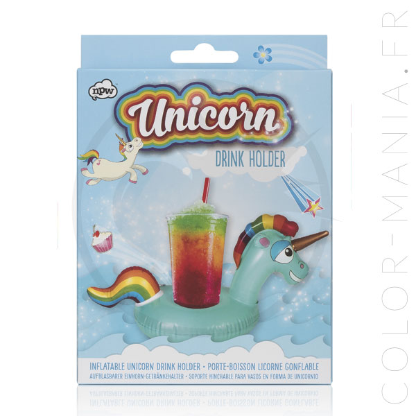 Inflatable Unicorn Drinking Cup Buoy | Color-Mania