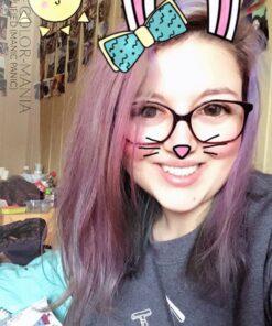 Merci Stéphanie :) Coloration Cheveux Violet après plusieurs shampoings - Directions