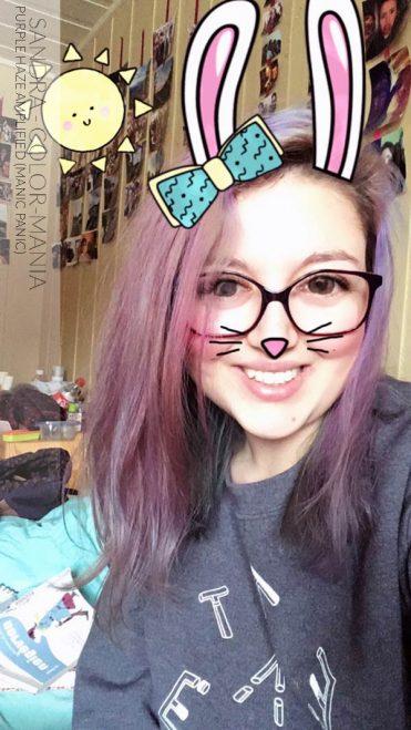 Gracias Stéphanie :) Coloración del cabello violeta después de varios champús - Direcciones