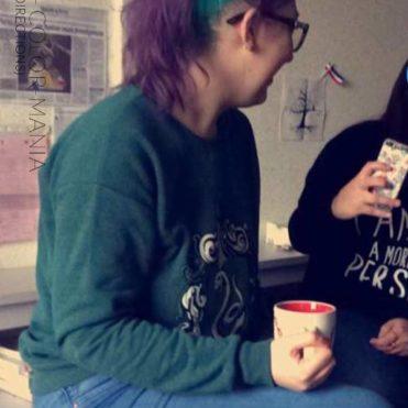 Merci Stéphanie :) Coloration Cheveux Violet et Turquoise - Directions
