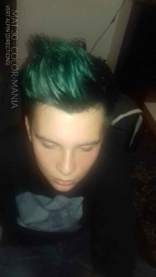 Gracias Mat 30 :) Alpine Green Hair Coloring - Direcciones