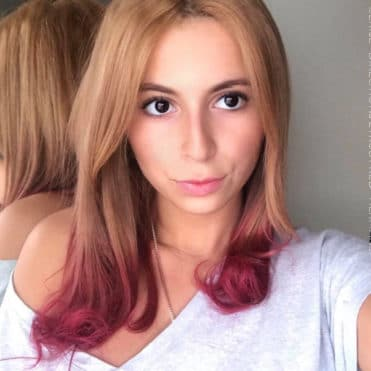 Rouge - Merci Yasmine :) Coloration Cheveux Ruby Red - Herman's Amazing et Cerise - Directions