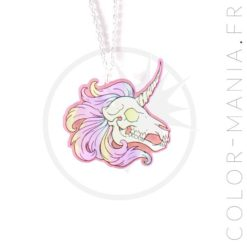 Collier Curiology x Radioactive Unicorn | Color-Mania