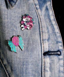 Tattoo Little Pony Pins e Anatomical Heart with Bow | Color-Mania