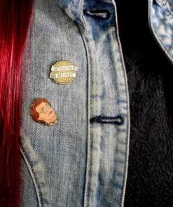 Pin's Barbara - She's Crazy Stranger Things | Color-Mania