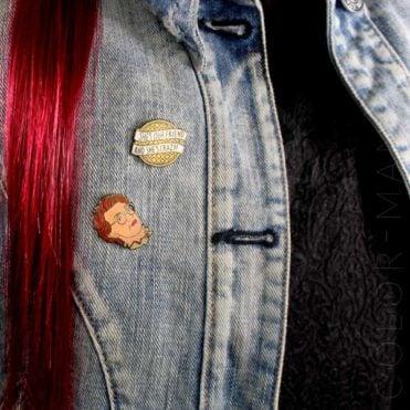Pin's Barbara - She's Crazy Stranger Things   Color-Mania
