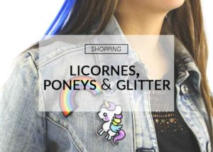 Licorne, poney & glitter | Color-Mania