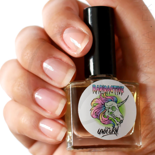 5-Base Coat Nail Polish - Radioactive Unicorn | Color-Mania