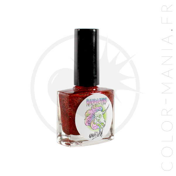 Vernis à Ongles 5-Free Freddy's Coming For You - Radioactive Unicorn | Color-Mania