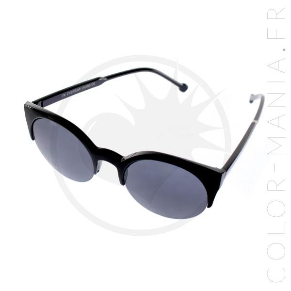 lunettes de soleil cat eye noires color mania. Black Bedroom Furniture Sets. Home Design Ideas