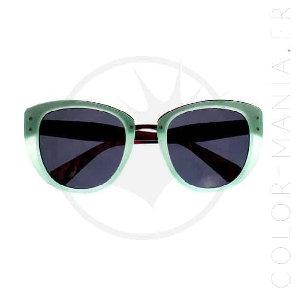 Lunettes de Soleil Cat Eye Oversize Menthe | Color-Mania | Color-Mania