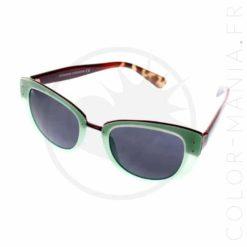 Cat Eye Sunglasses Oversize Mint | Color-Mania