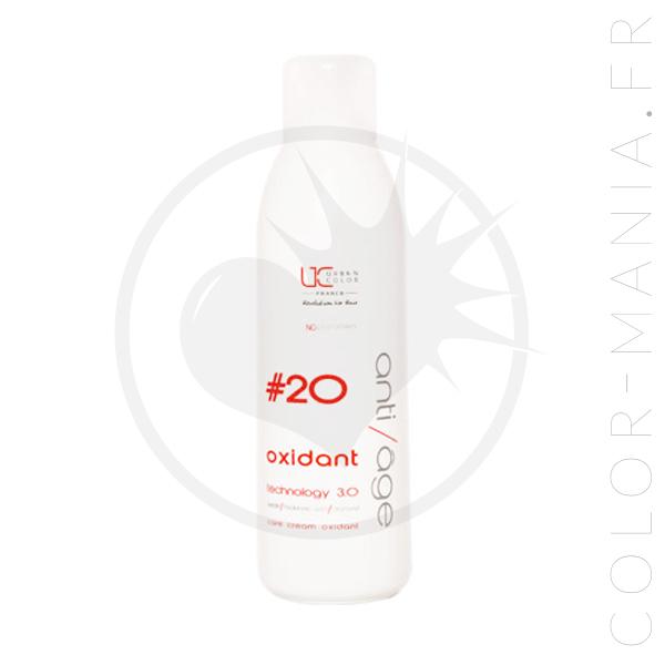 Crème Oxydante pour Décoloration Professionnelle 20 vol 1Litre – Urban Keratin | Color-Mania