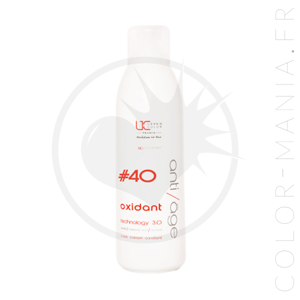 40 1 Flight XNUMXLitre crema oxidante profesional - Queratina urbana | Color-Mania