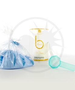 Vaso per polvere blu sbiancato professionale 500g - Urban Keratin | Color-Mania