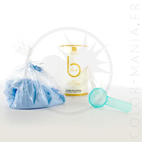 Profesional Bleaching Blue Powder Pot 500g - Queratina urbana | Color-Mania