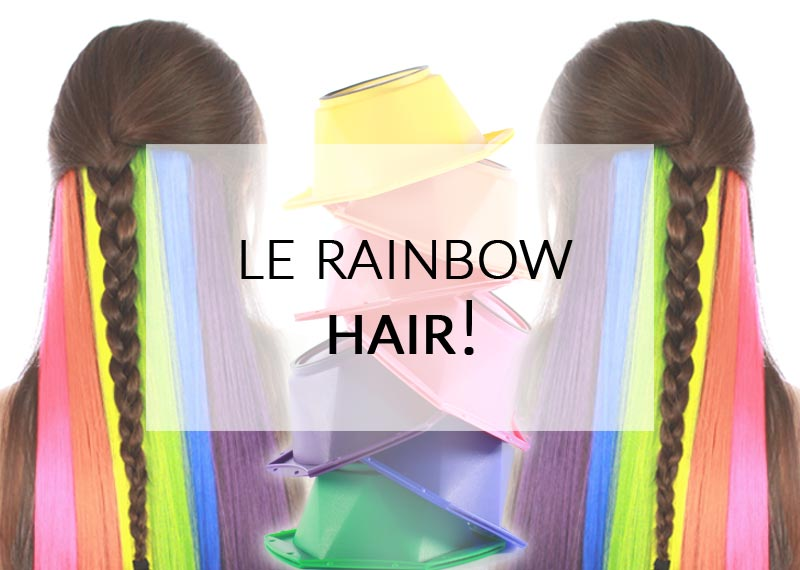 Cheveux arc-en-ciel : réussir un Rainbow Hair | Color-Mania
