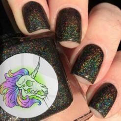 5-Free Nail Polish Satan es Super Kawaï - Unicorn radiactivo | Color-Mania