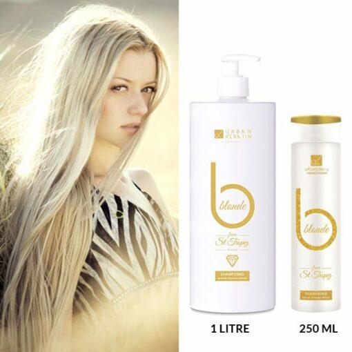 Shampoing Blonde From St Tropez - Urban Keratin