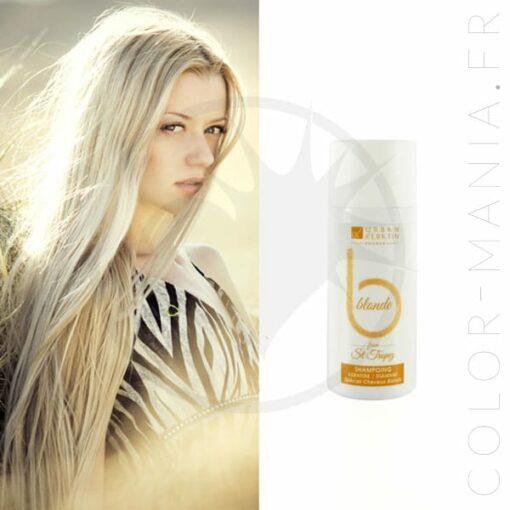Blonde St Tropez Shampoo 50 ml - Queratina urbana | Color-Mania