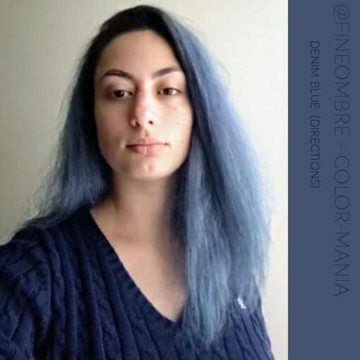 Merci @fineombre :) Coloration Cheveux Bleu Denim Blue - Directions   Color-Mania