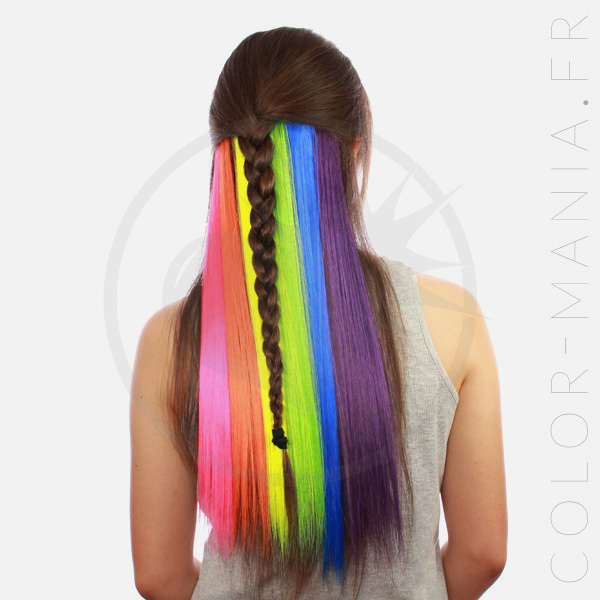 Kit Extensions Cheveux Underlight Hair Arc-en-Ciel - Manic-Panic | Color-Mania