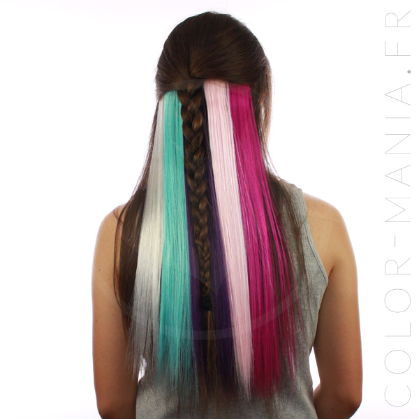Kit Extensions Cheveux Underlight Hair Licorne - Manic-Panic | Color-Mania
