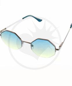Gafas de sol octogonales verdes | Color-Mania