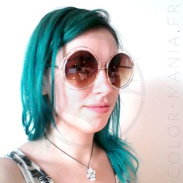 Anteojos redondos de gran tamaño psicodélicos - Anteojos marrones | Color-Mania