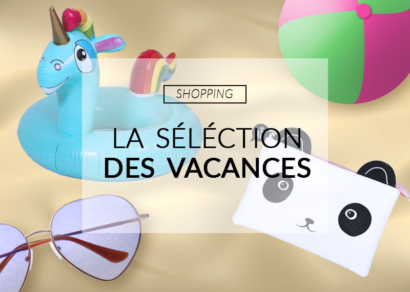 shopping vacances