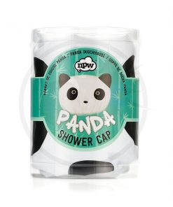 Panda Shower Cap Black & White | Color-Mania