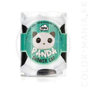 Bonnet de Douche Panda Noir & Blanc | Color-Mania