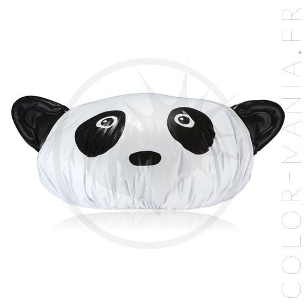 Panda Shower Cap Black & White | Color-Mania