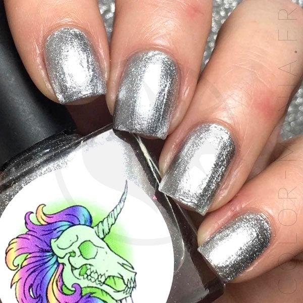 5-Free Nail Polish I'll Cut Pitch - Unicornio radiactivo | Color-Mania