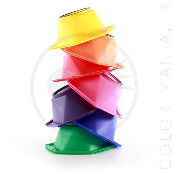 Kit 7 Bowls para colorear Rainbow | Color-Mania
