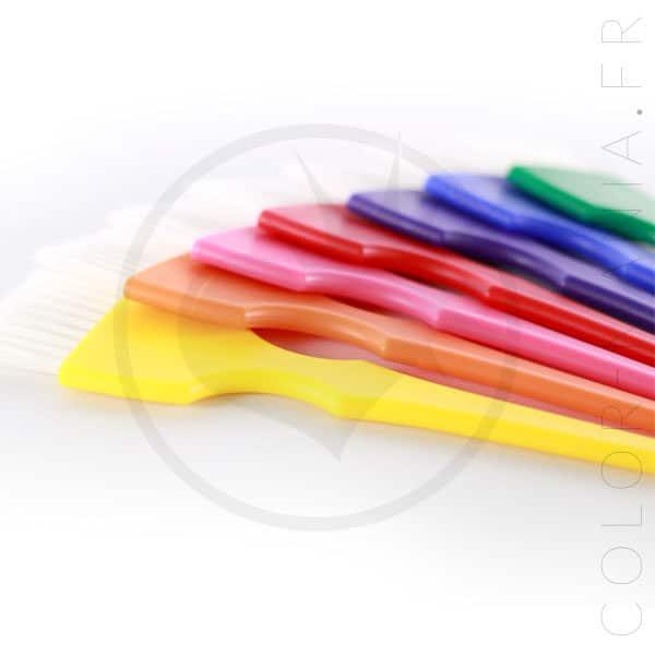 Kit 7 Pinceaux Coloration Rainbow | Color-Mania