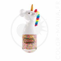 Vernis à Ongles Licorne Confettis Multicolores | Color-Mania