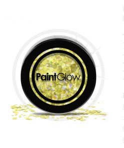 Big Sequins Golden Gold Gold Digger - PaintGlow | Color-Mania