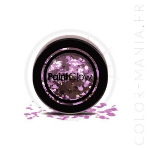 Grosses Paillettes Maquillage Violet Helter Skelter – PaintGlow | Color-Mania