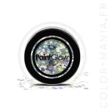 Grosses Paillettes Maquillage Bleu Vert Mystic Mermaid - PaintGlow | Color-Mania