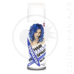 Spray Coloration Cheveux Bleu UV - Rebellious | Color-Mania