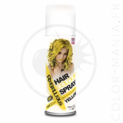 Spray Coloration Cheveux Jaune UV - Rebellious | Color-Mania