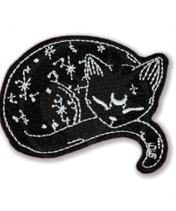 Patch Chat Stellaire Noir | Color-Mania