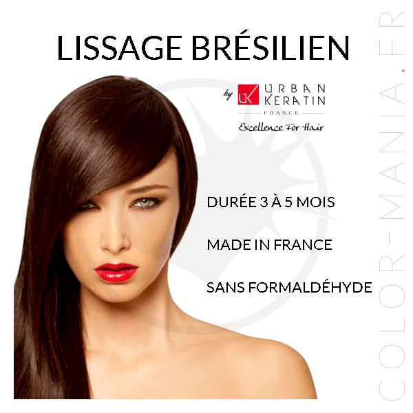 Kit Lissage Brésilien – Urban Keratin | Color-Mania