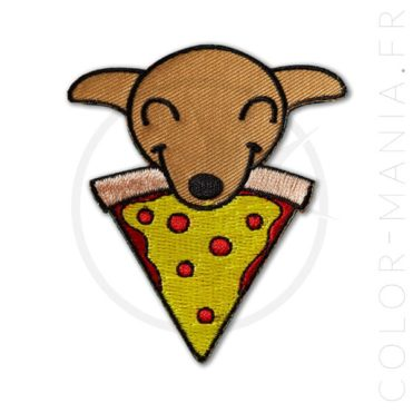 Patch Chiot & Pizza | Color-Mania
