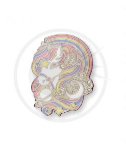 Pin's Licorne Arc-en-Ciel Pastel & Paillettes | Color-Mania