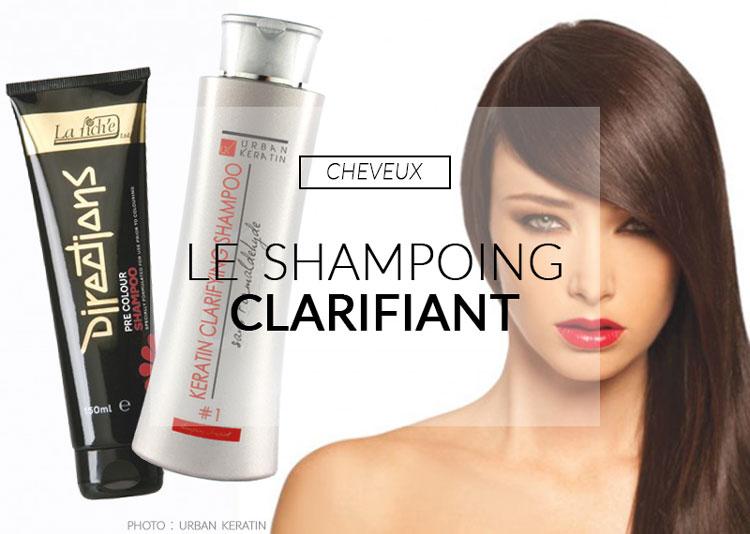 shampoing clarifiant color mania