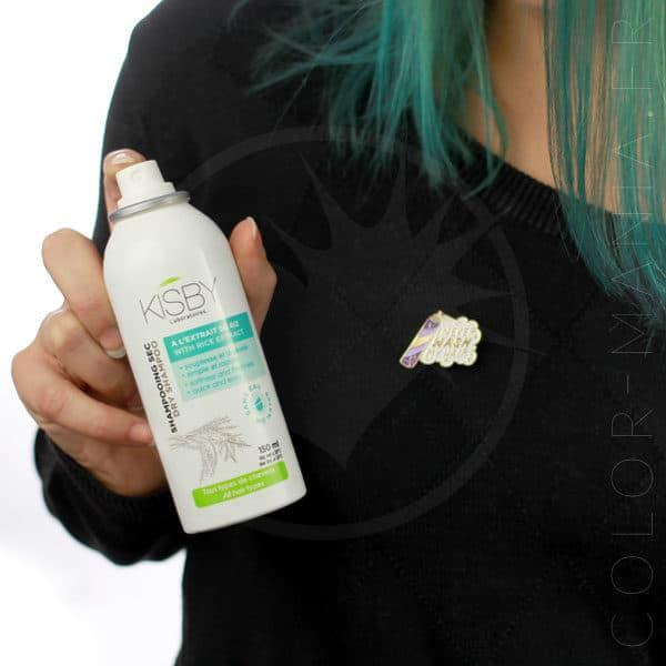 Kit Shampoing Sec Addict : 2 Aérosols 150 mL + Pin's | Color-Mania
