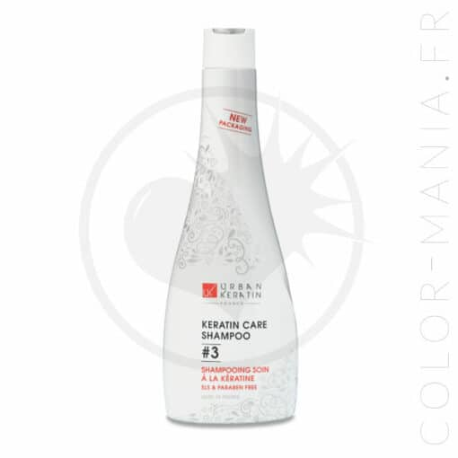 Shampoing Soin à la Kératine 400 ml - Urban Keratin | Color-Mania.fr