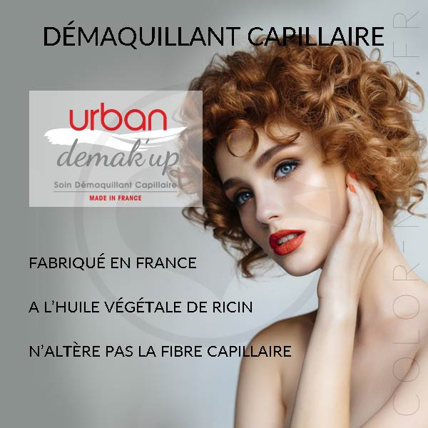 Kit Démaquillant Capillaire Urban Demak'Up - Urban Keratin | Color-Mania